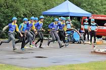 Mladí hasiči se  v Bohuticích věnují už třetím rokem požárnímu sportu.