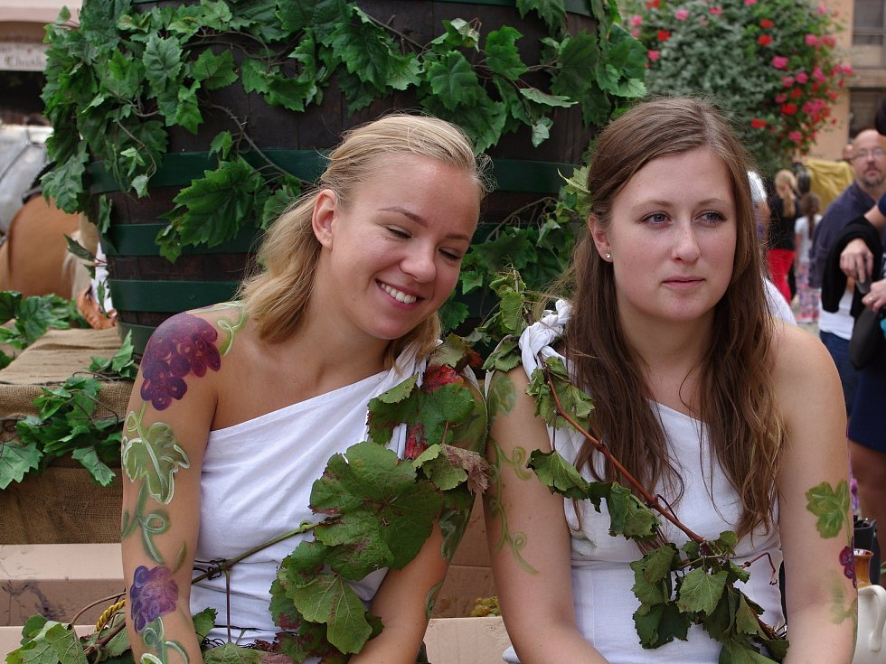 Vinobraní ve Znojmě.