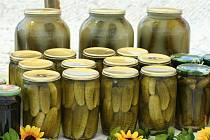 Farmářským trhům s ochutnávkou netradičních pochutin z okurek patří centrum Znojma.