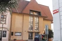 Bývalý svazácký Tip klub ve Znojmě. Stav v září roku 2016.