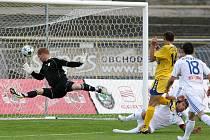 Radek Görner dává gól.