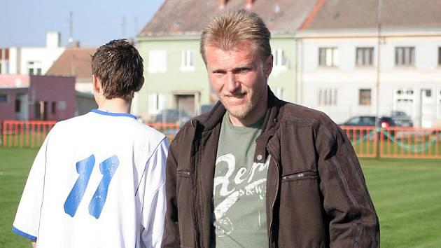 Trenér Tomáš Pěnkava.