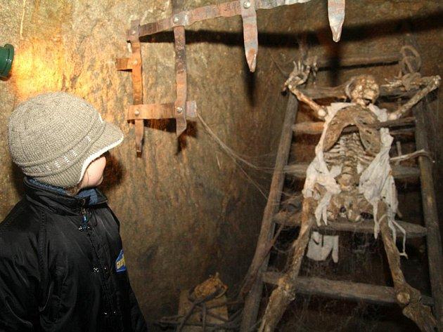 Znojemské podzemí. Ilustrační fotografie.