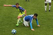 Fotbalisté divizních Tasovic (ve žlutých dresech) v neděli porazili na domácím hřišti celek Velké Bíteše 4:0.