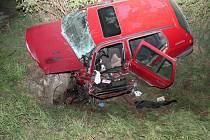Havárie volkswagenu u Únanova skončila smrtí.