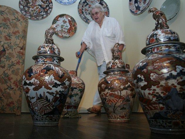 Orientální umění na Vranově