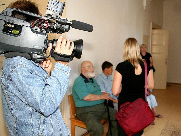 Soud v kauze justiční omyl ve Znojmě.