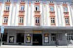 Znojemské kino Svět má novou fasádu.