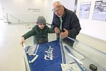 Výstava Zetor na ledě v brněnské Zetor Gallery