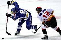 DESET LET. Celých deset sezon odehrálo Znojmo v extralize. Teď na hokejisty čekají souboje v první lize.