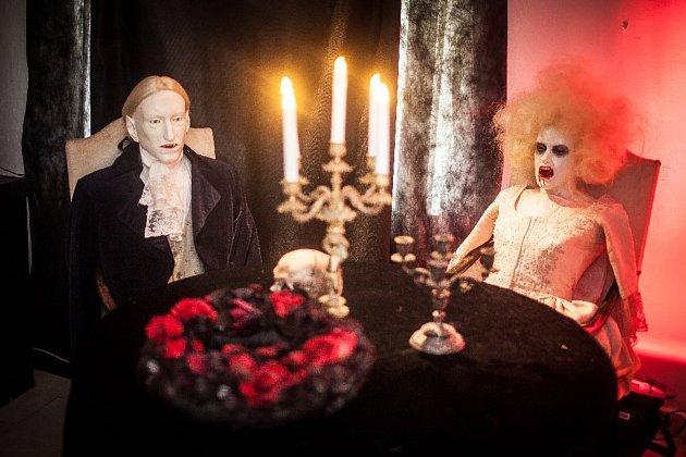 Nová výstava Dracula  ti druzí pobaví návštěvníky zámku vMiroslavi. Výstava byla dříve umístěna vbrněnském Letohrádku Mitrovských.