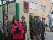 Sto páté výročí narození výsadkáře a válečného hrdiny Jana Kubiše si připomněli lidé ve Znojmě. Přítomné oslovila  Vratislava Křivánková z Českého svazu bojovníků za svobodu.