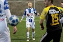 Hráč 1. SC Znojmo David Machalík.
