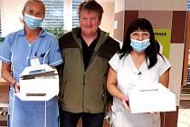 Jaroslav Kyprý daroval ve znojemské nemocnici krev po sto šedesáté.