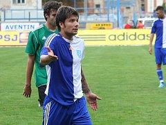 Kapitán 1. SC Znojmo Todor Yonov.