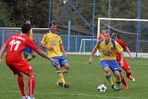 Fotbalisté Tasovic prohráli s Líšní 0:1.
