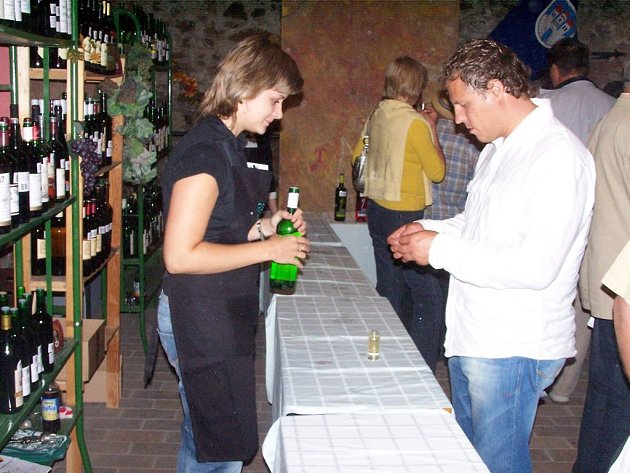 Na sto třicet vzorků vín ze Znojemska a dalších jihomoravských vinařských podoblastí ochutnávali v sobotu večer hosté jevišovické Zámecké romance.
