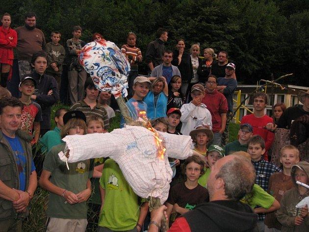 Dětský tábor ve Zblovicích