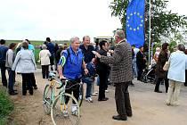 Slavnostní otevření přeshraniční cyklostezky Vrbovec - Dyjákovičky - Pulkautal