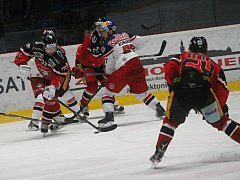 Znojemští Orli se utkali na domácím ledě se soupeřem ze Salzburgu.
