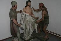 Bohutické sochy křížové cesty