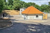 Zrekonstruovaná čistírna odpadních vod ve Vranově nad Dyjí, pomůže zamezit i růstu řas v řece Dyji.
