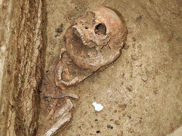 Na znojemském Hradišti vykopali výzkumníci dvě desítky velkomoravských hrobů.