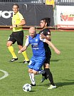 V posledním kole Fotbalové národní ligy se znojemští fotbalisté utkali s Příbramí, která postupuje do nejvyšší soutěže.
