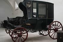 Výstava kočárů ve Valticích