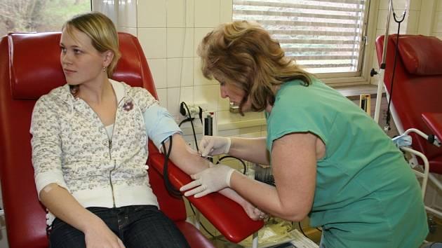 V příštím roce by se mohla odebírat krev už i v žatecké nemocnici.