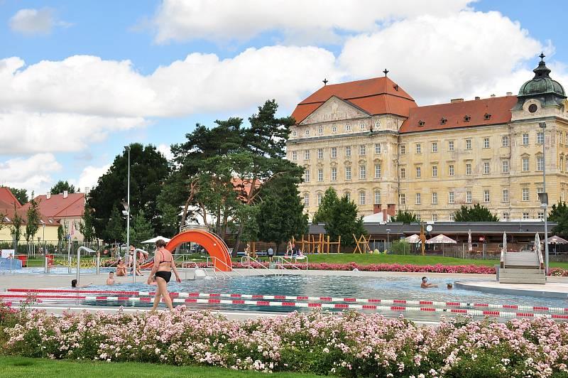 Městská plovárna Louka ve Znojmě.