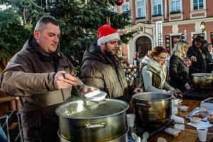 Devátý ročník znojemské Štědrovky přilákal stovky návštěvníků.