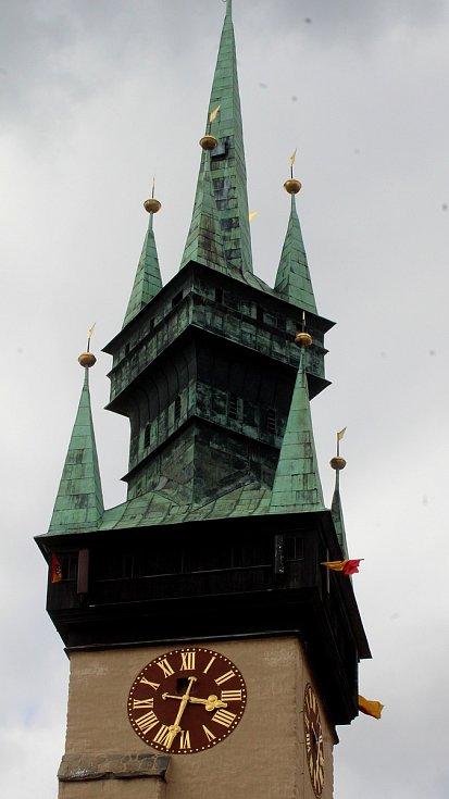 Znojemská věž.