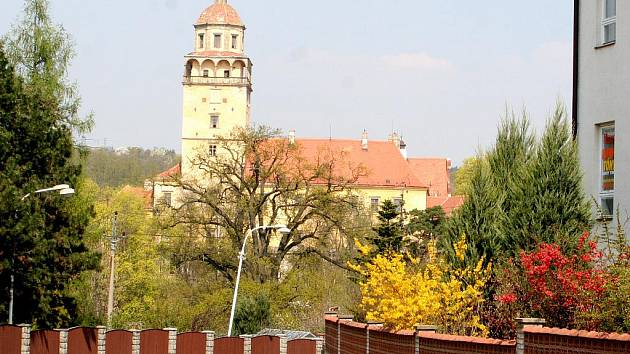 Zámek v Moravském Krumlově. Ilustrační foto.