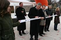 Otevření nového hřiště v Miroslavi