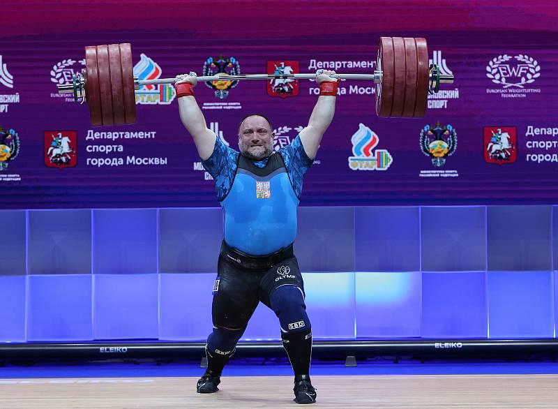 Jiří Orság na letošním evropském šampionátu.