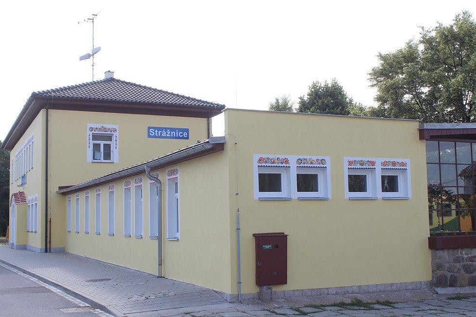 Vlakové nádraží ve Strážnici.