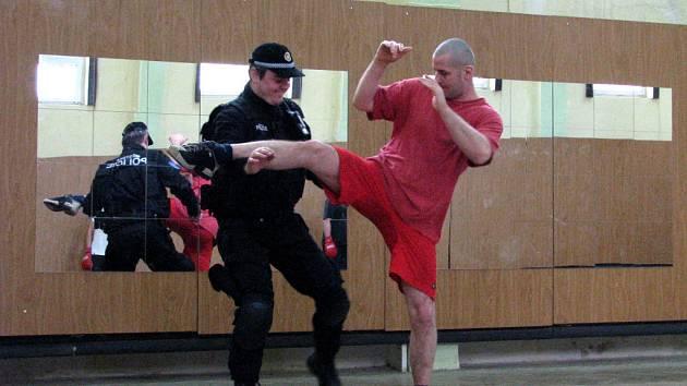 Výcvik strážníků městké policie ve Znojmě