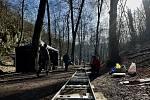 Tvůrcům reklamy ze zlínského Bumerangu se zalíbil zase Gránický les u Znojma.