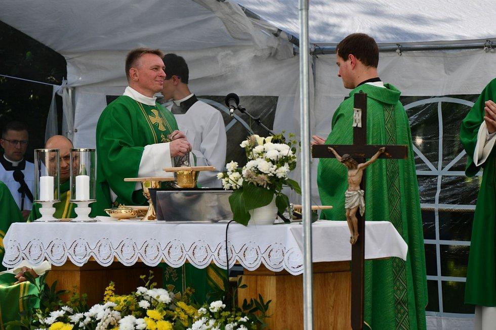 Primice novokněze Martina Mokrého v Blansku.
