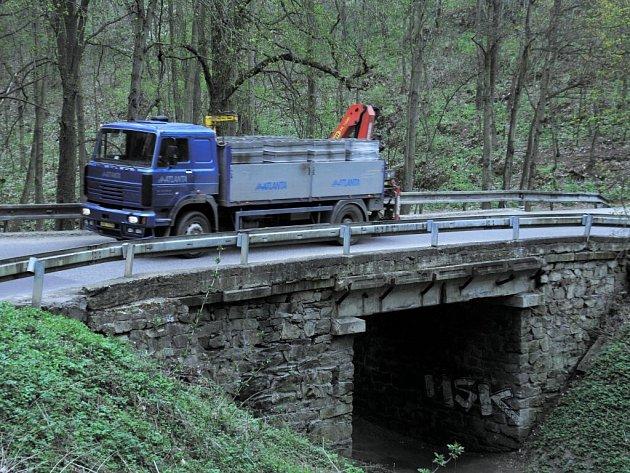 Most v Gránickém údolí
