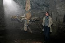 Natáčí části třídílné detektivky Ďáblova lest v Louckém klášteře