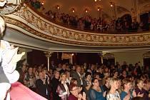 Koncerty Aleše Slaniny a jeho kolegů z Městského divadla Brno jsou ve Znojmě pravidelně vyprodané.