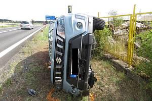 Dopravní nehoda u obce Blanné.