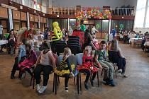 Šatovské děti se bavily na tradičním karnevalu.