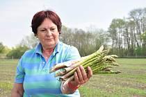 Eva Bártová (na snímku) vařila i pro hraběnku Šternberkovou. Tam získala lásku k chřestu