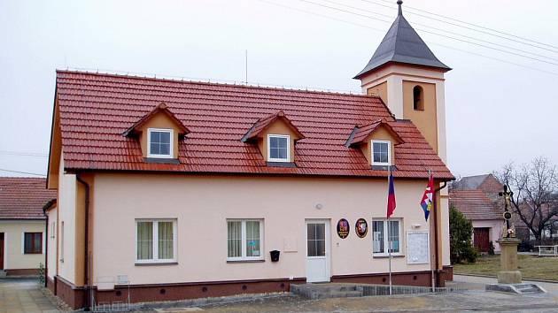 Obecní úřad v Jezeřanech.