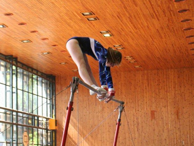 Gymnastky i gymnasté ve znojemské sportovní hale ukázali, že cvičit opravdu umí.
