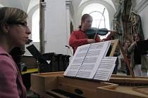 S Pavlem Šporclem na zkoušce