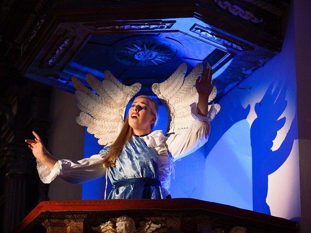 Prvním vrcholem čtrnáctého ročníku Hudebního festivalu Znojmo bylo scénické uvedení oratoria Svár duše s tělem.